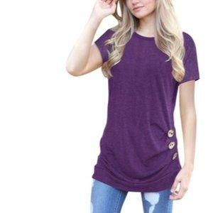 Women's Kayla Top Purple XL (16-18)